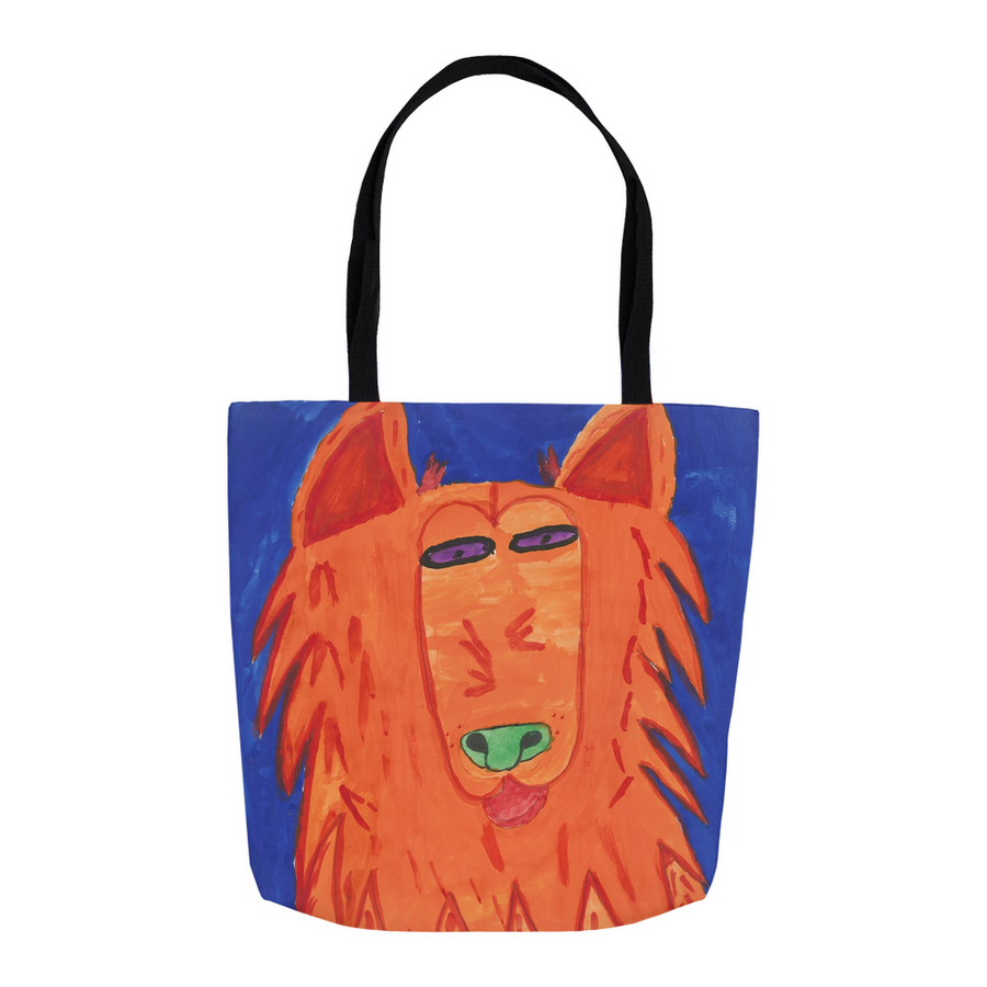 Orange Dog Tote