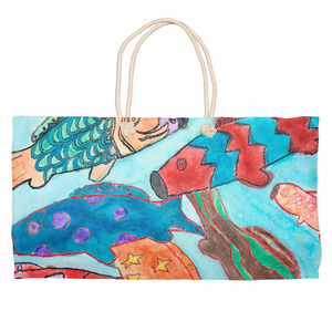 School of Fish Weekender Tote