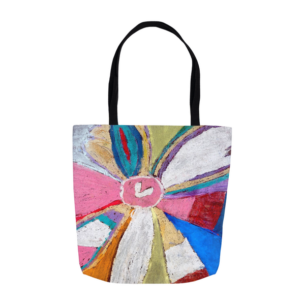 Abstract Flower Tote