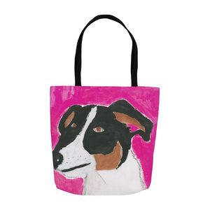Lucky The Dog Tote