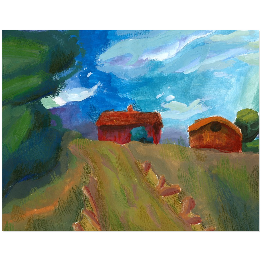 Farmhouse Acrylic Print