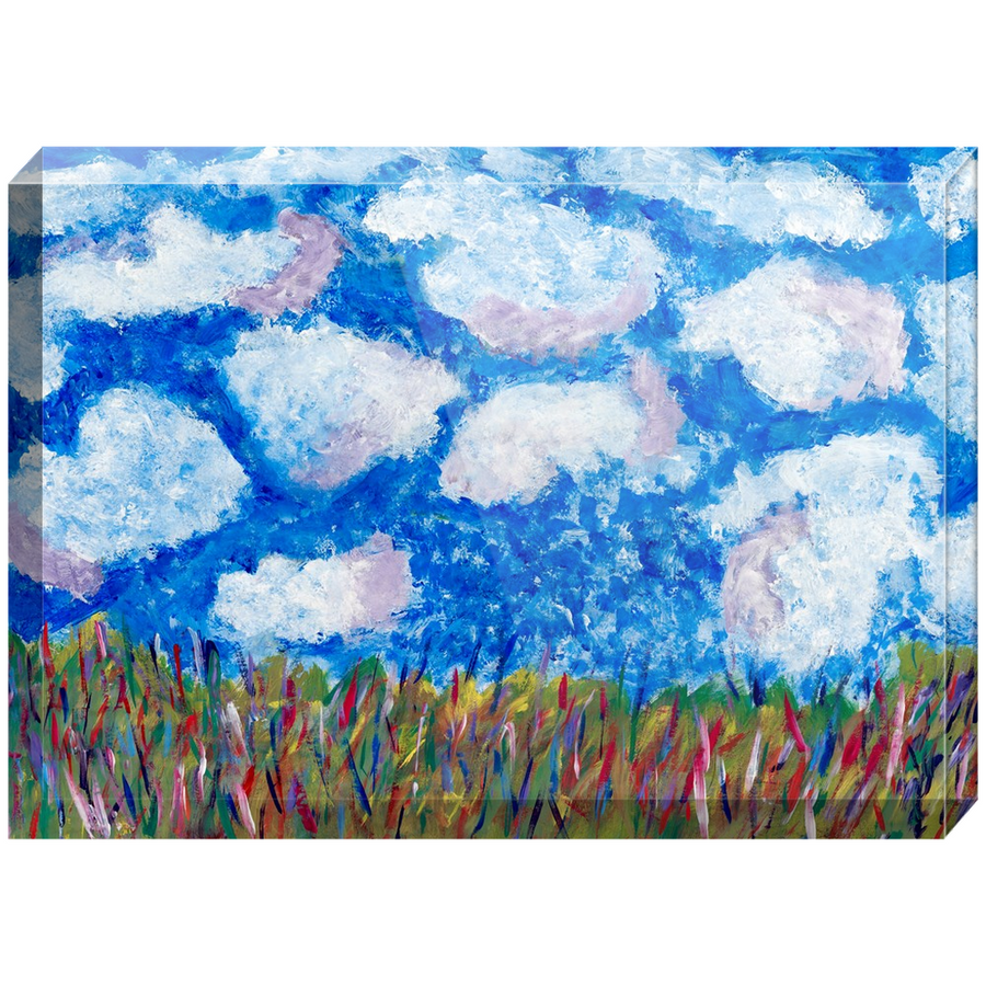 Day Dreaming Acrylic Block