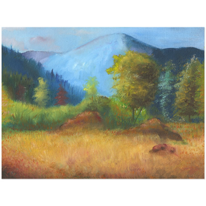 Mountainside Acrylic Print
