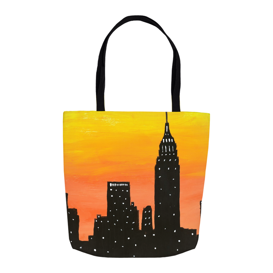 New York City Sunset Tote
