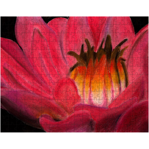 Red Waterlily Puzzle