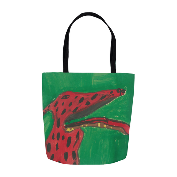 Big Red Dog Tote