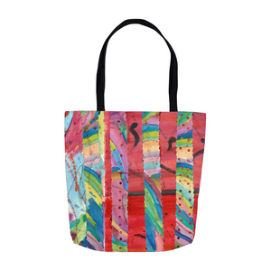 Colorful Collage Tote