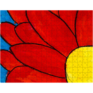 Big Red Flower Puzzle