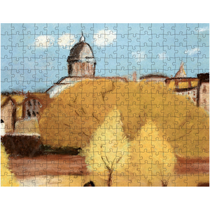 Country Fall Day Puzzle