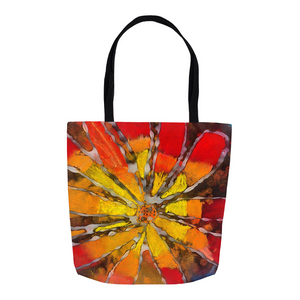 Multicolor Flower Tote