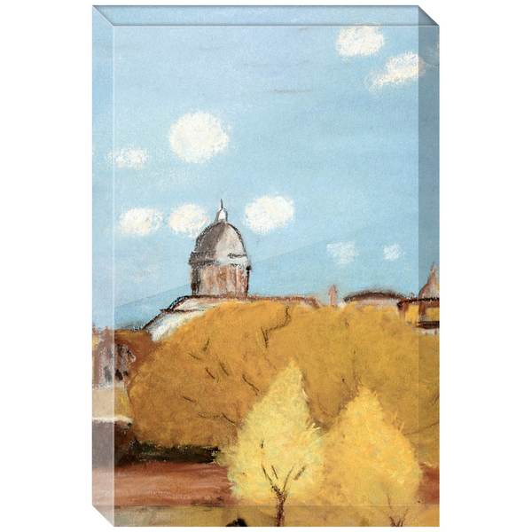 Country Fall Day Acrylic Block
