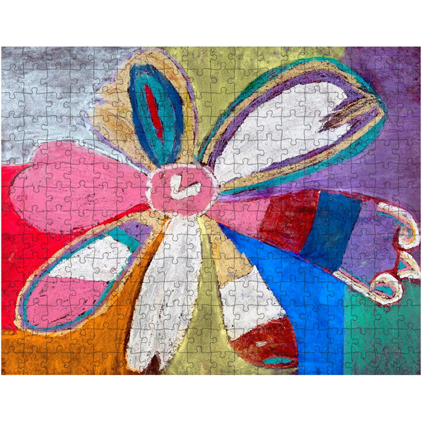 Abstract Flower Puzzle