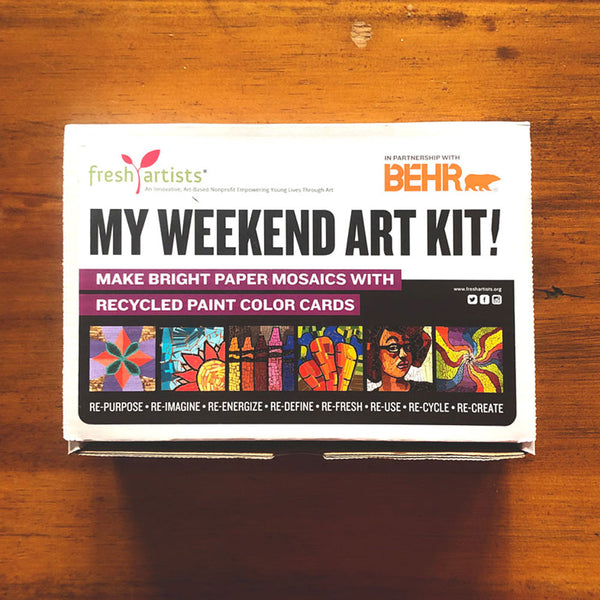Weekend Art Kit - Free To Students