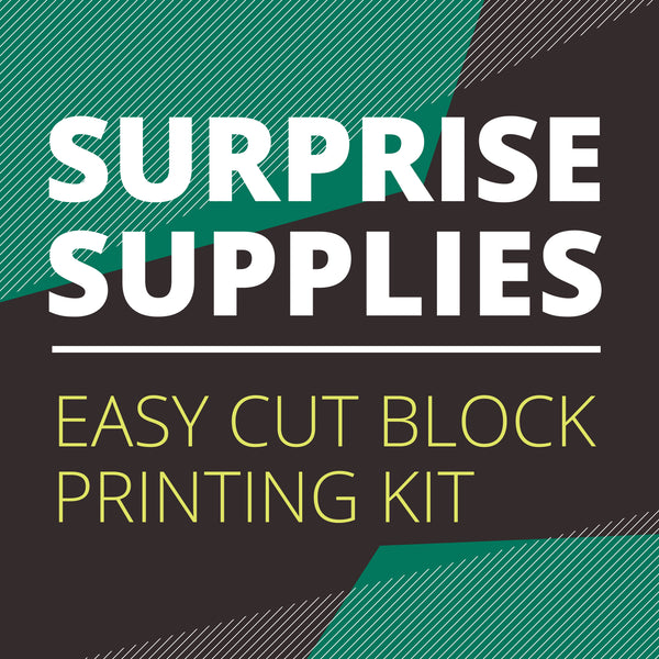 Easy Cut Block Printing Kit Surprise Box