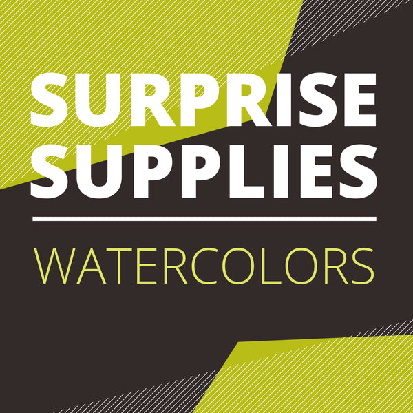 Watercolor Surprise Box