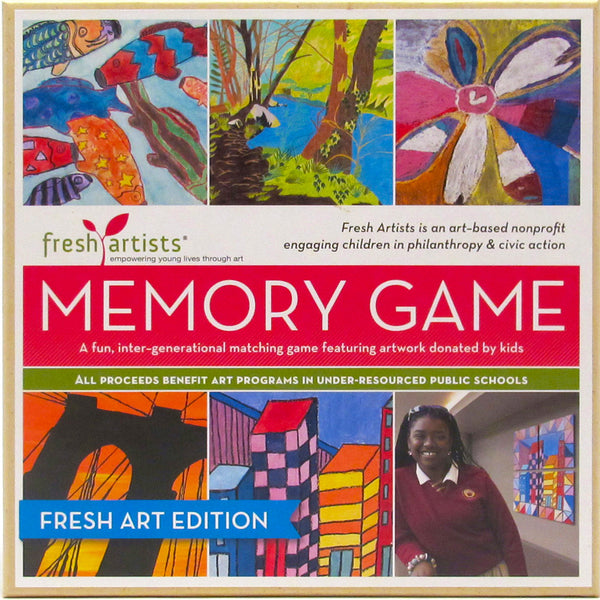 Memory Game: Fresh Art Edition