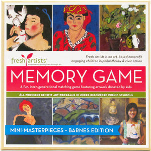 Memory Game: Mini–Masterpieces Barnes Foundation Edition