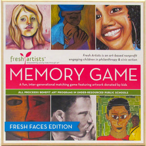 Memory Game: Fresh Faces Edition