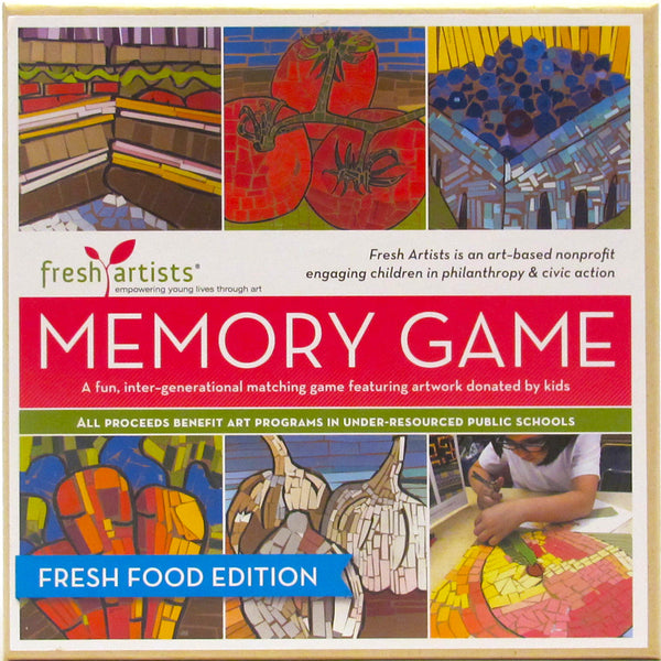 Memory Game: Fresh Food Edition
