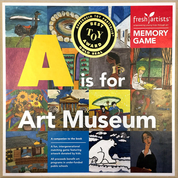 Memory Game: A is for Art Museum Edition