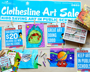 Clothesline Art Sale Kit