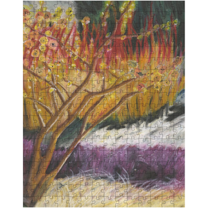 Red and Purple Tree Puzzle