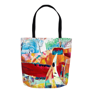 Nature Abstracted Tote