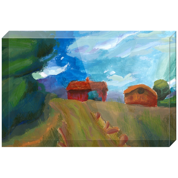 Farmhouse Acrylic Block