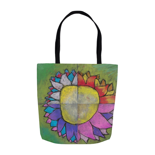 4 Quadrants Flower Tote