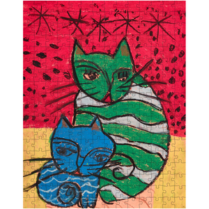 Green Cat Blue Cat Puzzle