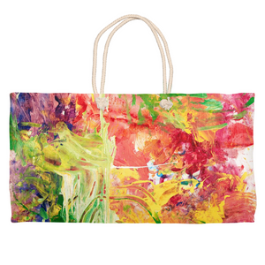 Colorful Energy Weekender Tote
