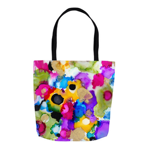Cheerful Circles Tote