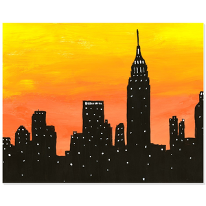 New York City Sunset Acrylic Print