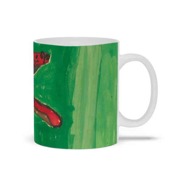 Big Red Dog Mug