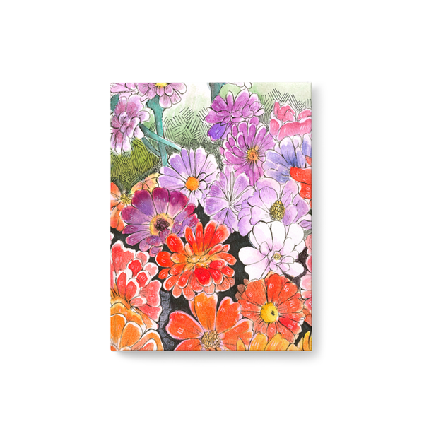 Impressionistic Flowers Journal