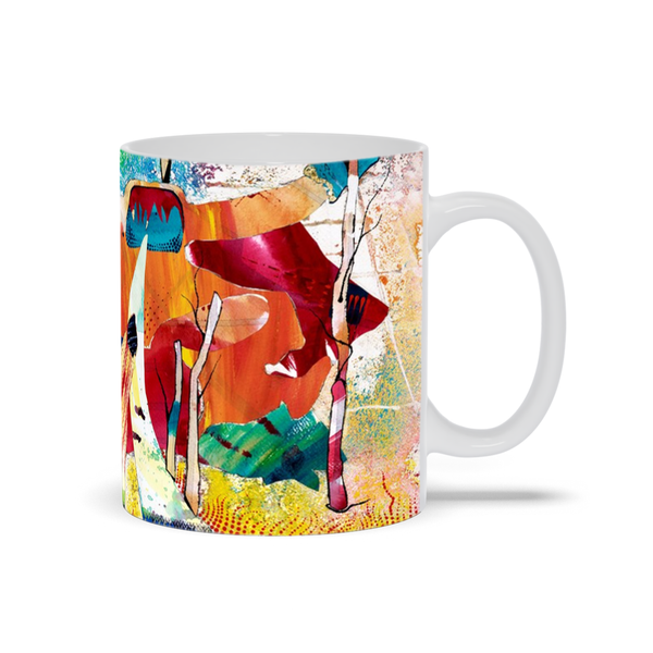 Nature Abstracted Mug