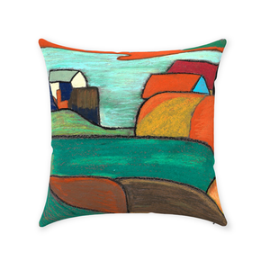 Gauguin Throw Pillow