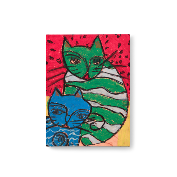 Green Cat, Blue Cat Journal