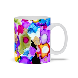 Cheerful Circles Mug