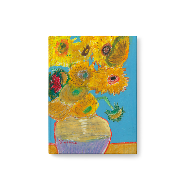 Vincent Van Gogh Sunflowers Journal