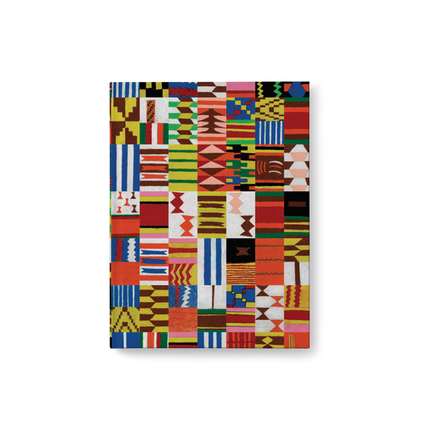 Kente Inspired Tile Journal
