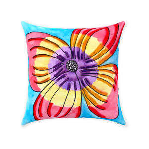 Dogwood Flower Throw Pillow