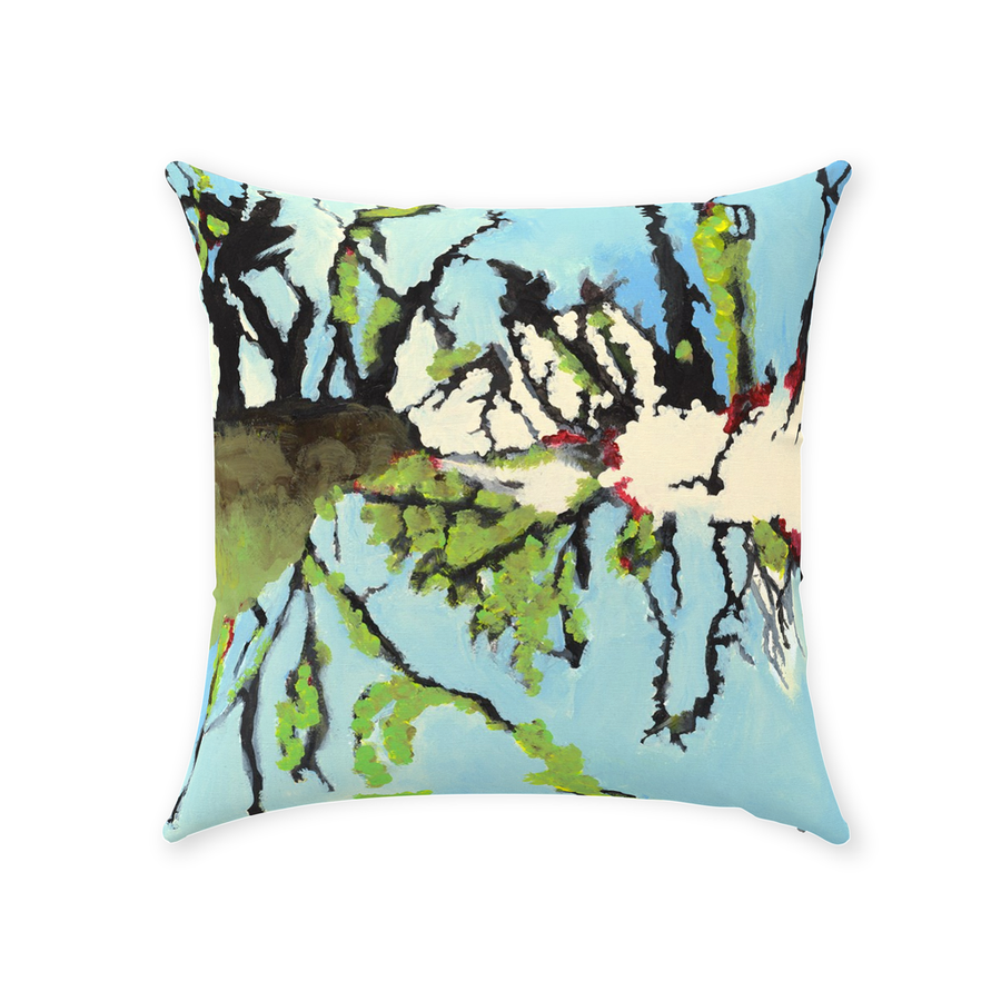Beautiful Trees Throw Pillow