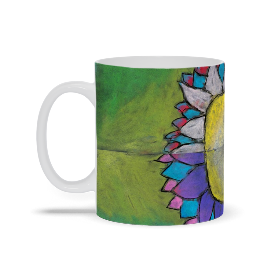 4 Quadrants Flower Mugs