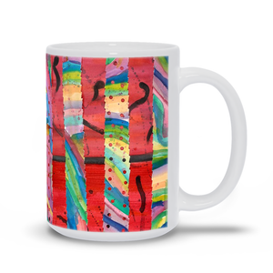 Colorful Collage Mug