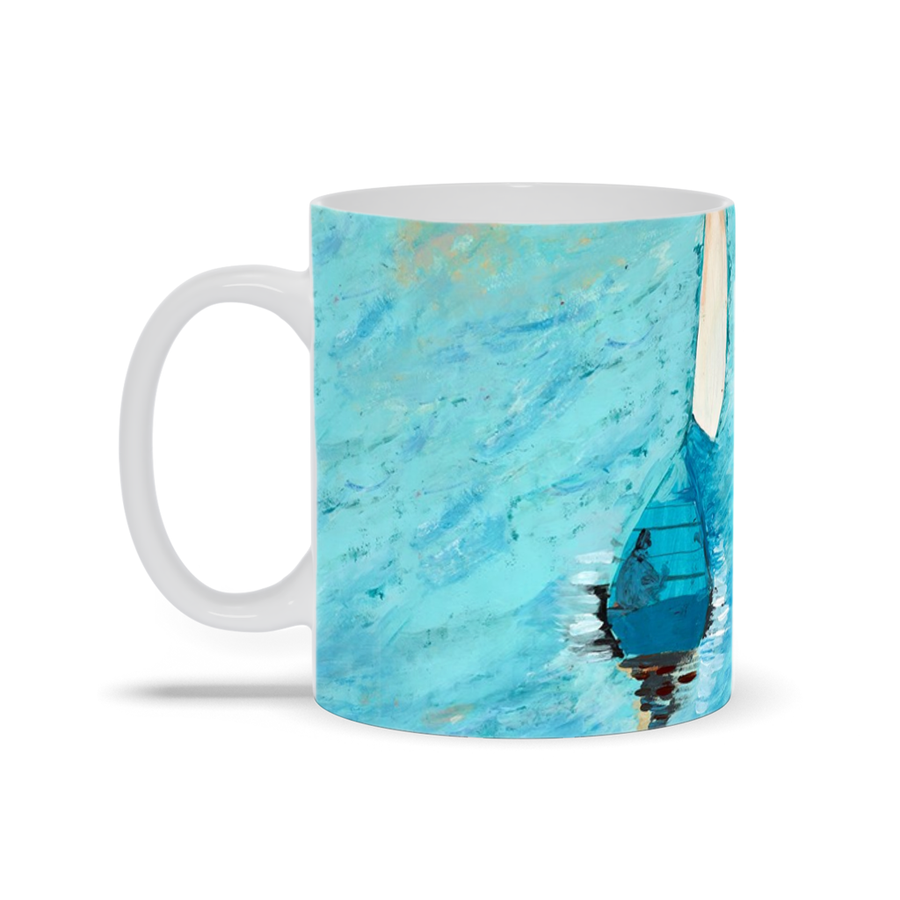 Peaceful at Sea Mug