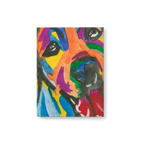 Rainbow Dog Journal