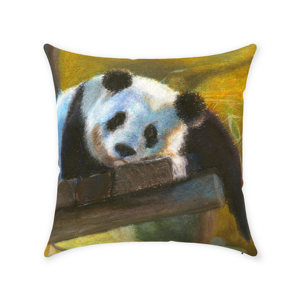 Panda Throw Pillow