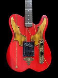"Red ""Tele"" Custom"