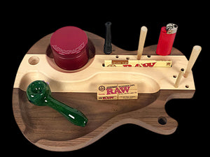 LP Shape Guitar rolling Tray